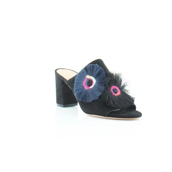 Loeffler Randall Clo-Ksfe Women's Heels Black/Eclipse Floral - 7.5