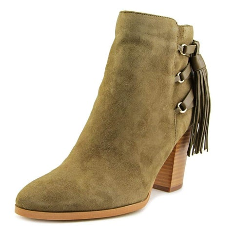 Marc Fisher Womens Kava Suede Pointed Toe Ankle Fashion Boots