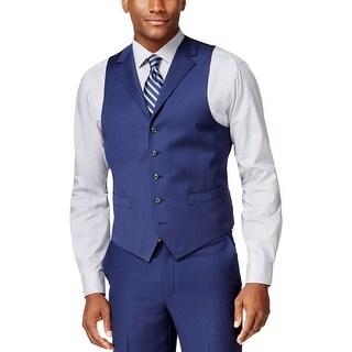 Sean John Mens Suit Vest Classic Fit Notched Lapel