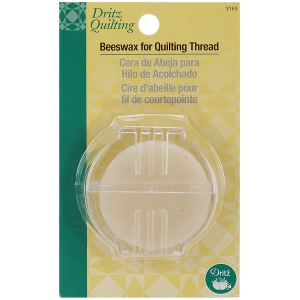 Dritz Quilting Beeswax W/Holder-