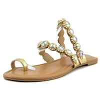 Thalia Sodi Womens joya Split Toe Casual Slide Sandals