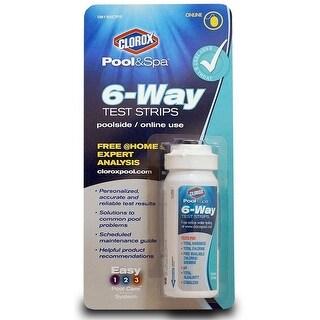 Clorox 70050CLX Pool & Spa 6-Way Test Strips