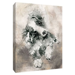 """PTM Images 9-148599  PTM Canvas Collection 10"""" x 8"""" - """"Sketchy Study Collie"""" Giclee Dogs Art Print on Canvas"""