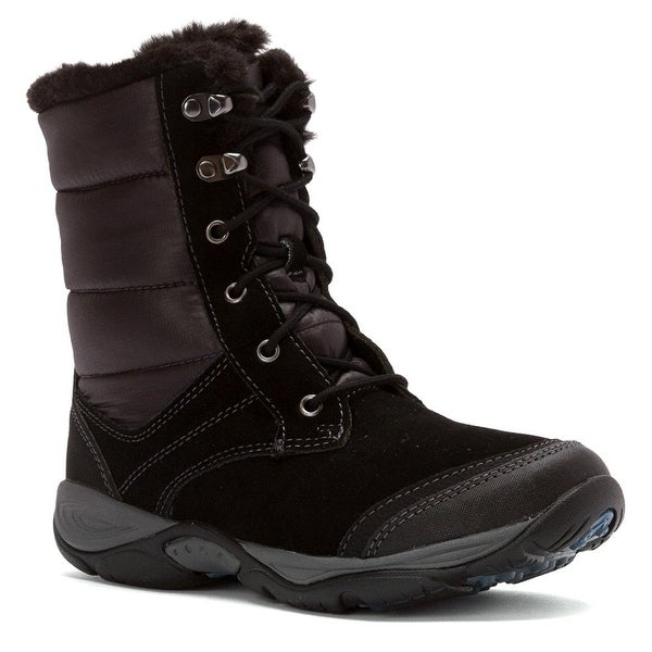 Easy Spirit Womens Erle Cap Toe Ankle Cold Weather Boots