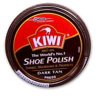 KIWI Shoe Polish, Brown 1-1/8 oz