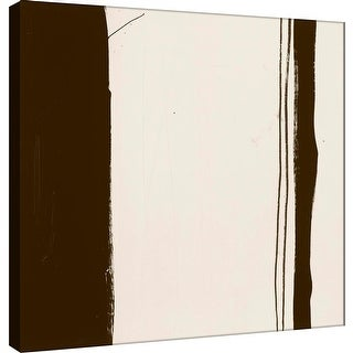 """PTM Images 9-100897  PTM Canvas Collection 12"""" x 12"""" - """"Sepia G"""" Giclee Abstract Art Print on Canvas"""