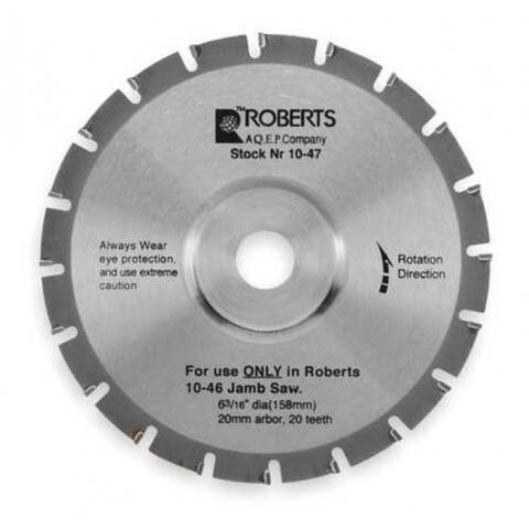 Q.E.P 10-47 Carbide Jamb Saw Blade 6-3/16""