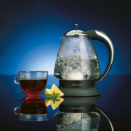 Capresso 259.03 H20 Plus Glass Water Kettle, 48 Oz