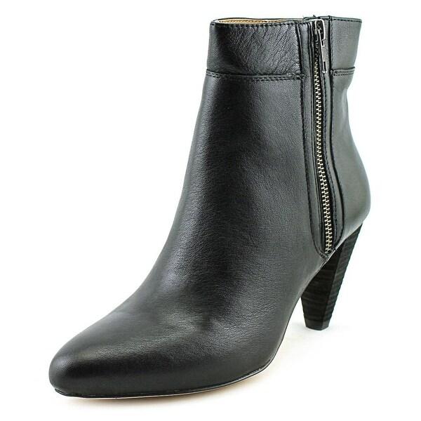 Corso Como Autumn Women Round Toe Leather Ankle Boot