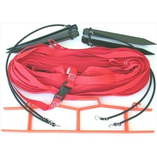 Home Court W25RS Red 1-inch Non-adjustable Web Courtlines