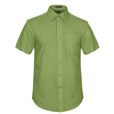 NE PEOPLE Men's Regular Fit Short Sleeve Button Down Dress Shirts