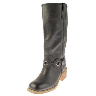 Mojo Moxy Womens Pan Handle Cowboy, Western Boots Belted Mid-Calf