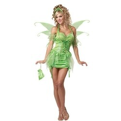 Womens Tinkerbell Fairy Sexy Adult Halloween Costume (4 options available)