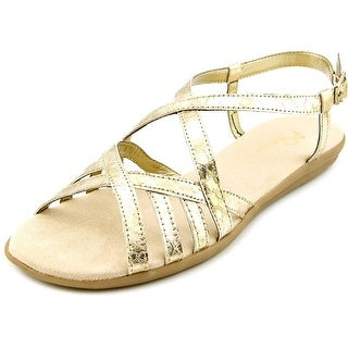A2 By Aerosoles Exchlaim   Open Toe Synthetic  Slides Sandal