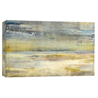 "PTM Images 9-101992  PTM Canvas Collection 8"" x 10"" - ""The Silent Horizon"" Giclee Abstract Art Print on Canvas"