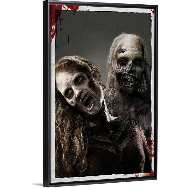 Shop Floating Frame Premium Canvas With Black Frame Entitled The