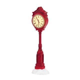 "Department 56 Snow Village ""Village Clock"" Accessory #4038805"