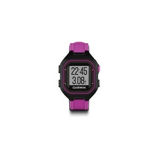 Garmin Forerunner 25 black and Purple GPS Running Watch