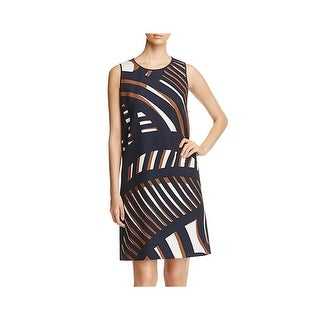 Lafayette 148 Womens Cocktail Dress Matte Jersey Sleeveless