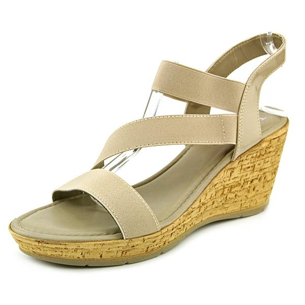 Easy Street Piceno Women Open Toe Synthetic Wedge Sandal