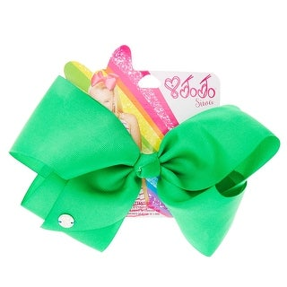 JoJo Siwa Signature Collection Hair Bow Neon Green