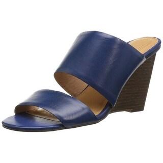 Corso Como Womens INGRID Leather Open Toe Casual Platform Sandals