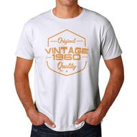 Vintage 60s Men's White T-shirt