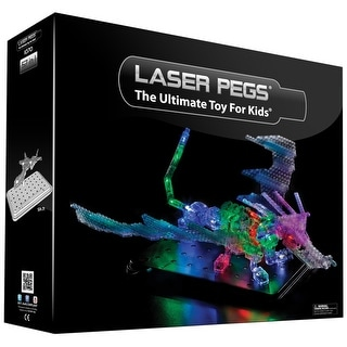 Laser Pegs Lighted 57-in-1 Construction Kit Dragon