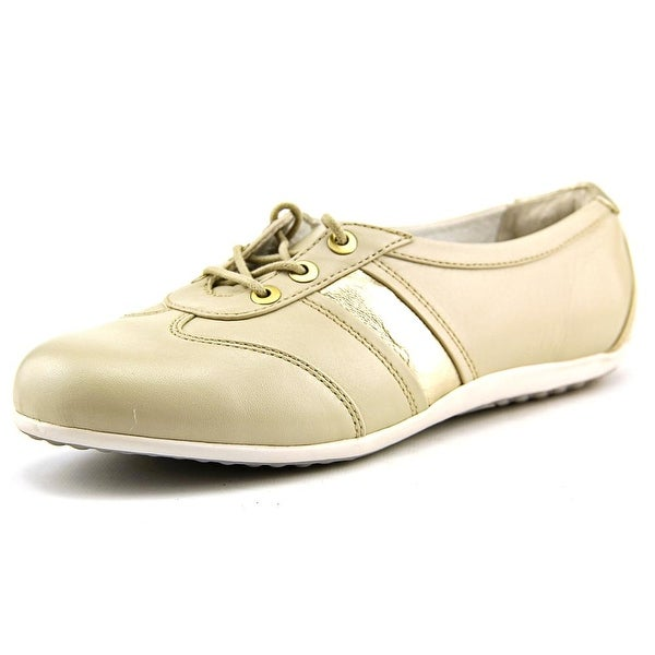 Blondo Mao Women N/S Round Toe Leather Nude Oxford