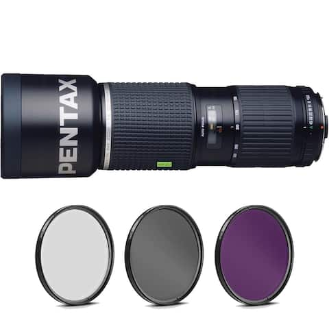 Pentax smc FA 645 150-300mm f/5.6 ED [IF] Lens with Pro Filter