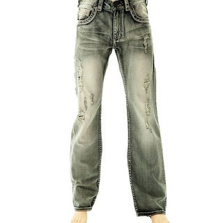 B. Tuff Western Denim Jeans Mens Happy Hour Vintage Wash MHPPHR