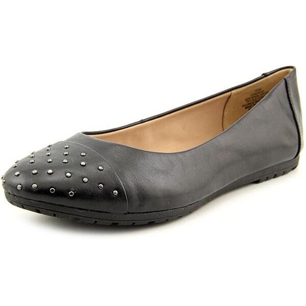 Easy Spirit Adrina Women Round Toe Synthetic Black Flats