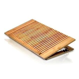 Macally NW6045 Macally ECOFANPRO Bamboo Laptop Stand with Fan