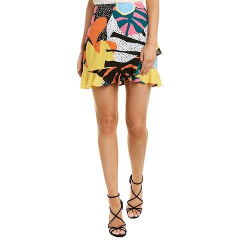 Bcbgeneration Ruffle Mini Skirt
