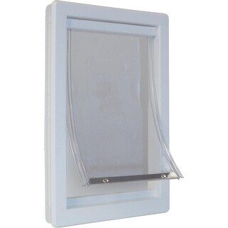 Ideal Pet Super Lrg Plstc Pet Door