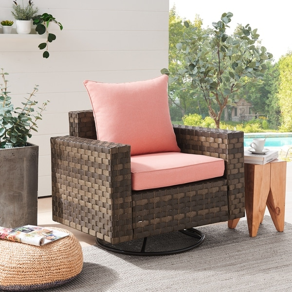 Gordon Outdoor Patio Cushion Set with Backrest and Seat Cushion by Havenside Home. Opens flyout.