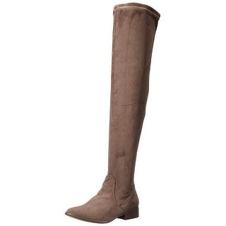 Report Womens Sanjay Closed Toe Over Knee Fashion Boots