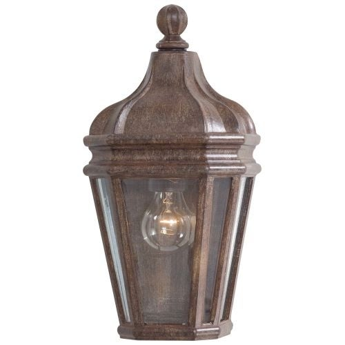 "The Great Outdoors GO 8697 1 Light 14.75"" Height Outdoor Wall Sconce from the Harrison Collection"