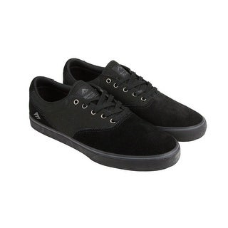 Emerica Provost Slim VULC Mens Black Suede Lace Up Sneakers Shoes