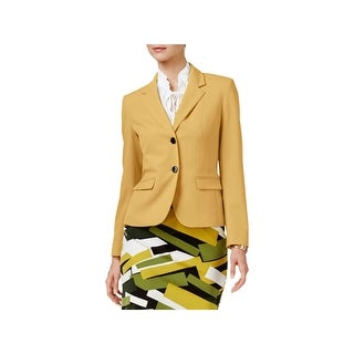 Nine West Womens Two-Button Blazer Collar Faux Pockets22 - 14