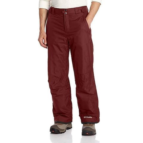 Columbia Men's Bugaboo II Pants, SZ Small/Regular, Deep Rust