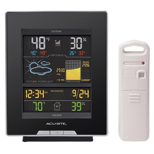 """""""AcuRite Dark Theme Color Weather Station Color Weather Station"""""""