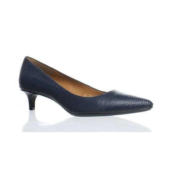 6d8c684357f44 Shop Calvin Klein Womens Gabrianna Blue Pumps Size 5 - On Sale ...