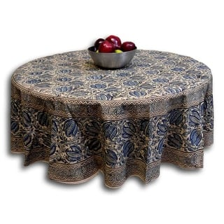 Handmade Vegetable Dye Block Print Cotton Tablecloth Rectangular 60x90 Inches 60x60 Square 72 Inch Round Napkins Blue Green Red|https://ak1.ostkcdn.com/images/products/is/images/direct/a7ea8d0e5a232c1c85712520bbd59c1c1c3049f3/Handmade-Vegetable-Dye-Block-Print-Tablecloth-100%25-Cotton-Blue-60x90-Inches-Rectangle-60x60-Square-72-Inch-Round-Napkins.jpg?impolicy=medium