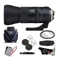 Tamron SP 150-600mm f/5-6.3 Di VC USD G2 for NIKON International Version (No Warranty) Advanced Kit - black