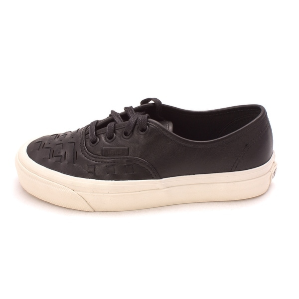 13b5e5ec65 Shop Vans Womens Authentic Weave D Leather Low Top Lace Up Fashion ...