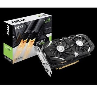 Msi Computer Gtx 1060 3Gt Oc Nvidia Geforce 3Gb Gddr5 Dvi/Hdmi/Displayport Pci-Express Video Card