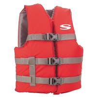 Stearns 3000004472 stearns 3000004472 pfd 3007 cat boating vest youth red