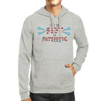 I Put The Riot In Patriotic Unisex Grey Hoodie Patriotic Gift Ideas