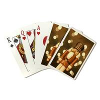 Nutcracker - Christmas Oil Painting - LP Artwork (Poker Playing Cards Deck)